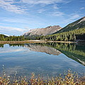 Canadian Rockies Rocky Mountain Lake by Terry Fleckney