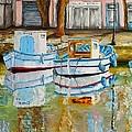 Canal De Martigues by Brigitte Grange