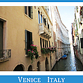 Canal Reflection   Venice Italy by John Shiron