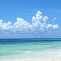 Cancun Beach by Jack Schultz