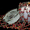 Candle And Beads by Carolyn Marshall
