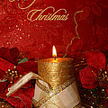 Candle Light Christmas Card by Aimelle
