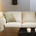 Candlelit Living Room by Andersen Ross