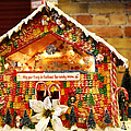Candy Gingerbread House by Marilyn Hunt