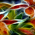Candy Lily Fractal Panel 2 by Peter Piatt
