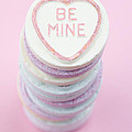 Candy With Be Mine Written On It by Neil Overy