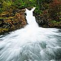 Canmore Falls by Ginevre Smith
