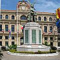 Cannes City Hall by Christiane Schulze Art And Photography