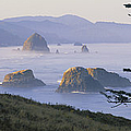 Cannon Beach by Chromosohm Media Inc and Photo Researchers