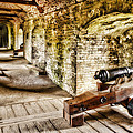Cannons Of Dover by Wendy White