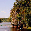 Canoeing On The St. Croix River  by Tam Graff