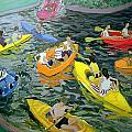 Canoes by Andrew Macara