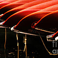Canoes Of Red by Bob Christopher
