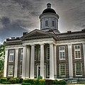 Canton Courthouse Back by Rick Ward