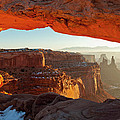 Canyonlands Sunrise by D Robert Franz