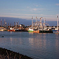 Cape May Fishing Boats by Tom Singleton