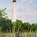 Cape May Lighthouse by Margie Perry