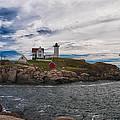 Cape Neddick Light Station by Guy Whiteley