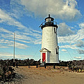 Cape Pogue Lighthouse Marthas Vineyard by Dave Mills