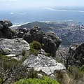 Cape Town And Robben Island by Peggy  McDonald