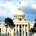 Capitol Building In Montgomery by Carol Groenen