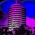 Capitol Records Building by George Pedro