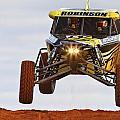 Car 13 Getting Some Air by Paul Svensen