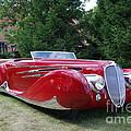 Car At Meadowbrook by Grace Grogan