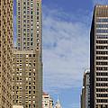 Carbide And Carbon And Wrigley Building - Two Chicago Classics by Christine Till