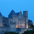 Carcassonne At Twilight by Greg Matchick