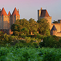 Carcassonne Dawn by Brian Jannsen