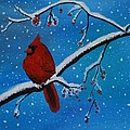Cardinal Christmas by Leslie Allen