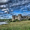 Carew Castle Pembrokeshire 3 by Steve Purnell
