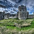 Carew Castle Pembrokeshire 4 by Steve Purnell