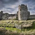 Carew Castle Pembrokeshire Long Exposure 2 by Steve Purnell