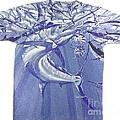 Carey Chen Mens Marlin Shirt by Carey Chen