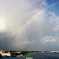 Caribbean Rainbow by Cynthia Amaral