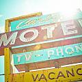 Carlyle Motel by David Waldo