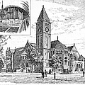 Carnegie Library, 1890 by Granger