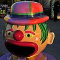 Carnival Clown by David Lee Thompson