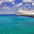Carnival Elation Docked At Cozumel by Jason Politte