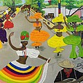 Carnival In Port-au-prince Haiti by Nicole Jean-Louis