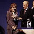 Caroline Kennedy And Senator Ted by Everett
