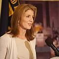 Caroline Kennedy Speaking by Everett