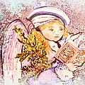Caroling Angel by Mindy Newman