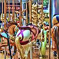 Carousel 7 Hdr by Ericamaxine Price