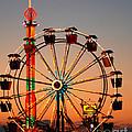 Carousel At Night by Anne Ferguson