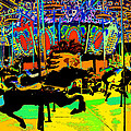 Carousel Colors by David Lee Thompson