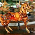 Carousel Horse by Ken Marsh