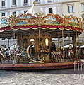 Carousel In Florence by Patti Gray